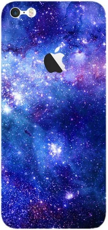 Wallner - Adhesivo de Metal para iPhone 6Plus 5s 5c 7plus (5 Unidades), Color Negro