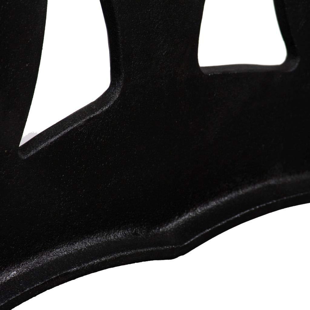 Forma X -69x71cm UnfadeMemory 2 Pack Patas para Mesa,Patas de Repuesto para Mesa de Comedor,Patas para Muebles,Estilo Antiguo y Industrial,Hierro Fundido,Negro