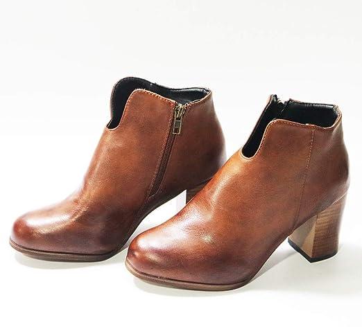 Posional Mujeres Borla Zapatos Sobre La Rodilla Tacones Cuadrados ...