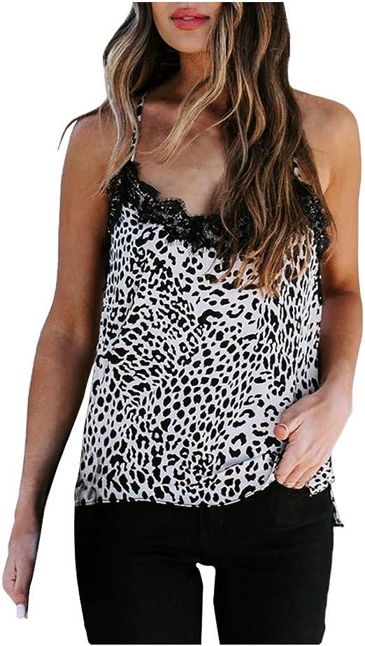 Women/'s Sleeveless V-Neck Lace Crochet T-Shirt Summer Casual Tank Top Blouse US
