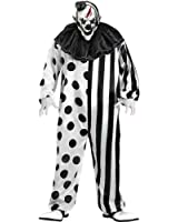 Fun World Killer Clown Adult Costume-