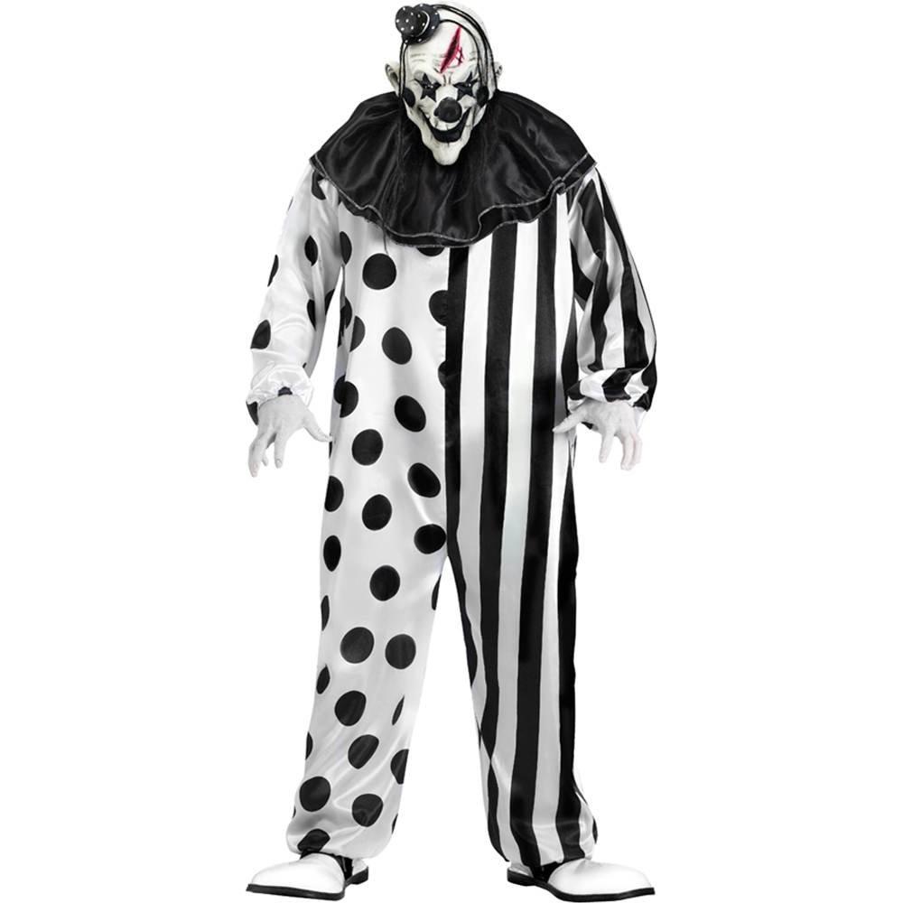 Costume uomo adulto clown taglia unica