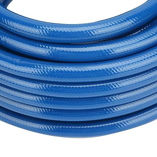 Compresor de manguera de aire 850 psi 50 pies PVC 15 m azul 20 bar 60 kg//cm2 accesorios de herramientas neum/áticas