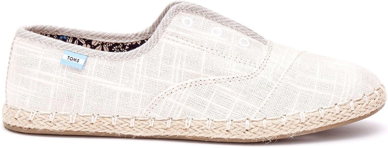Palmera Slip-On Natural Linen Loafer 11