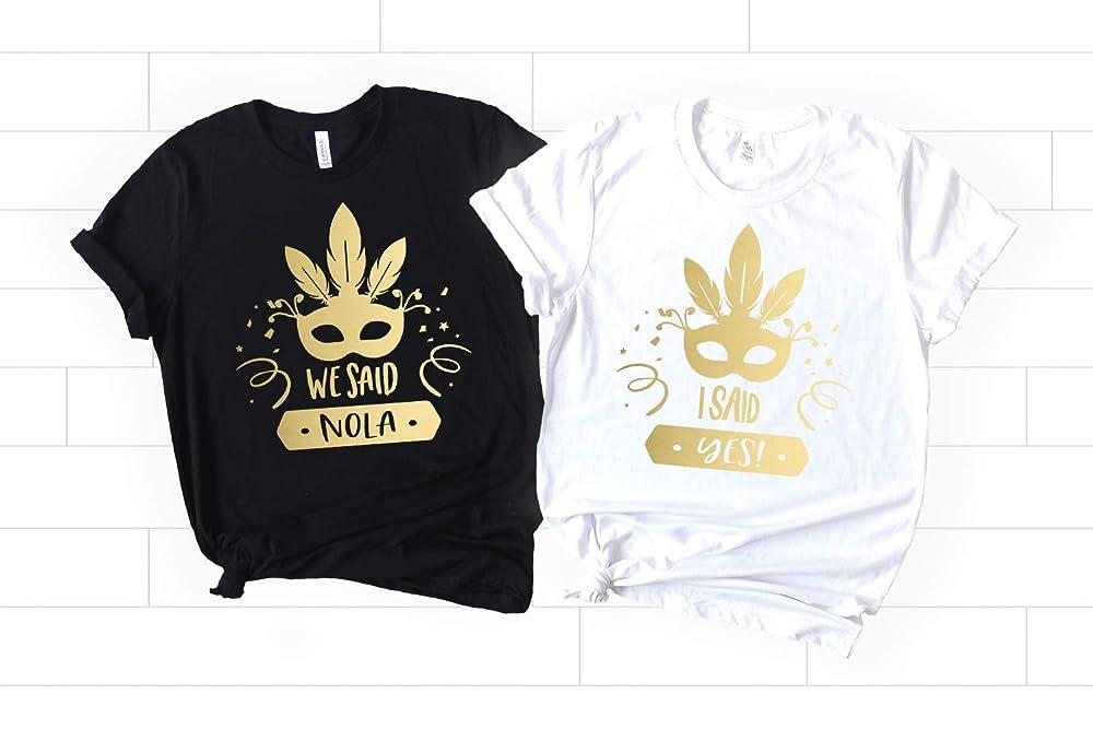 Nola Bachelorette Shirts We Said Nola Shirts Bachelorette Shirts I Said New Orleans Bridesmaid Shirts Bridesmaid Proposal