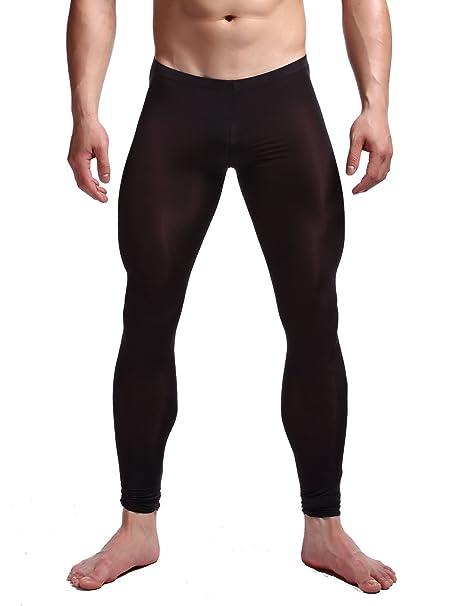 Amazon.com: K-Men - Pantalones largos de malla para hombre ...