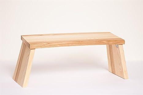 Sgabello yoga meditation sgabello pieghevole in legno di