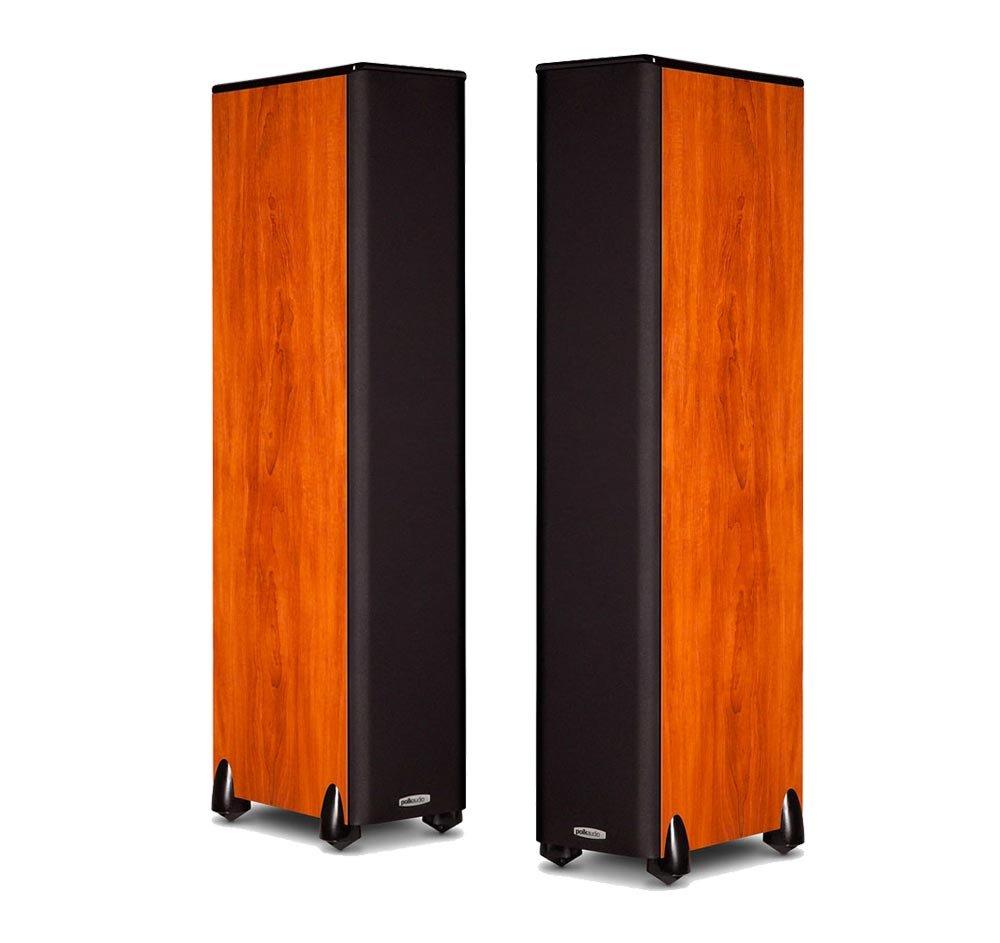 Polk Audio TSi300 Floorstanding Tower Speaker - Pair (Cherry)