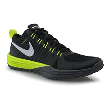 deb74dbdeea3 Nike Lunar TR1 Fitness Training Shoes Mens Black Volt Grey Gym Trainers  Sneakers (UK7