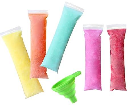 Ives - 100 bolsas moldes desechables para congelar y preparar ...