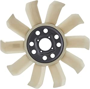 APDTY 731223 Upgraded Radiator Cooling Fan Blade (10 Blade) Fits Select 1985-2004 Ford & Mercury Vehicles (Match Vehicle To Compatability Chart To Ensure Exact Fitment; Replaces F3TZ8600C, F3ZZ8600A)