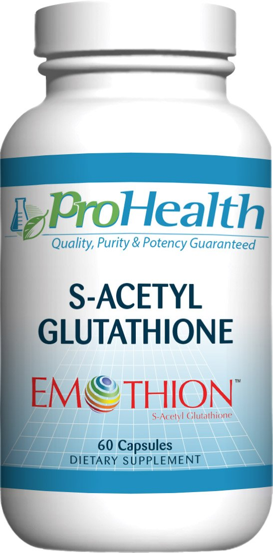 ProHealth S-Acetyl Glutathione (Emothion) (300 mg - 60 Capsules)