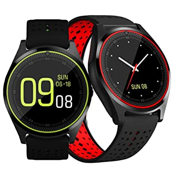 Kalaokei V9 - Reloj Inteligente Deportivo con Bluetooth (1 ...