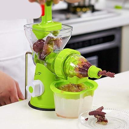 Liu Sensen Exprimidor De Múltiples Funciones Mini Exprimidor Frutas Vegetales Naranja Jugo De Sandía Mano-