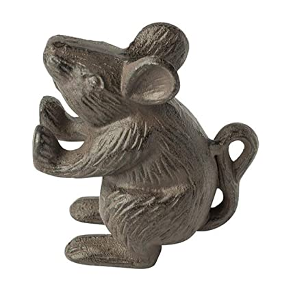 Genial Cast Iron Mouse Door Stop   Decorative Rustic Door Stop   Stop Your  Bedroom, Bath