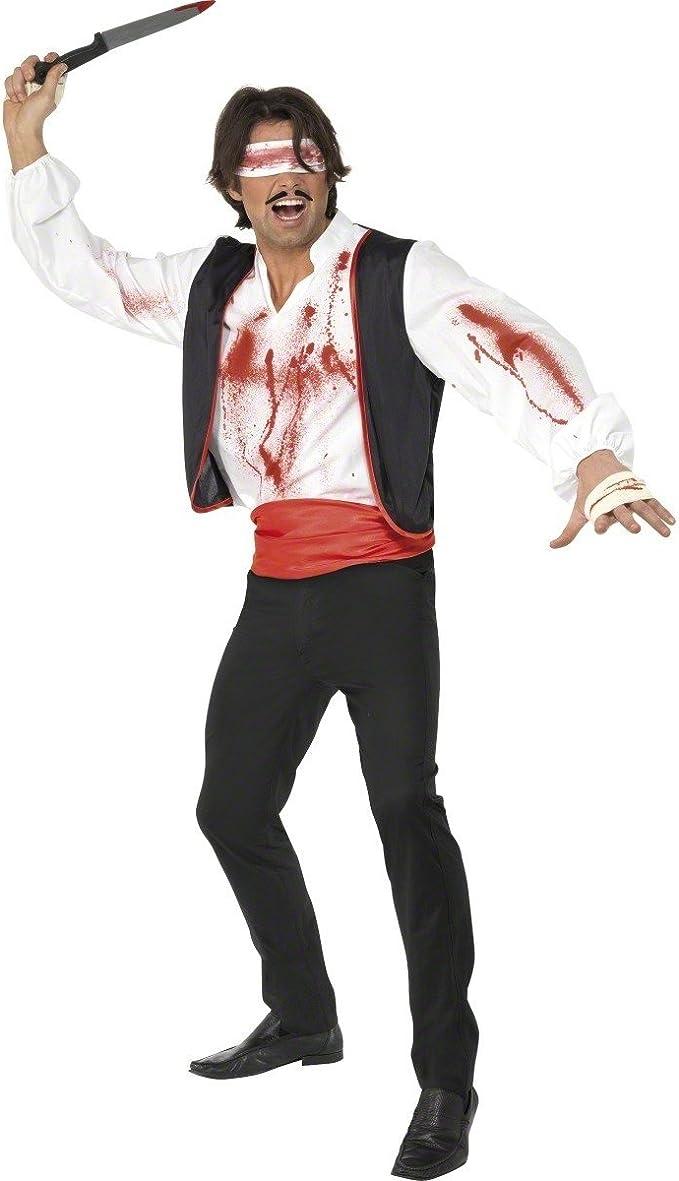 Smiffys Disfraz de lanzador de cuchillos de circo para hombre ...