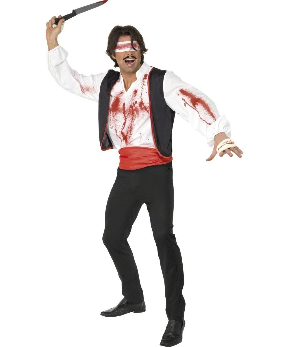 Smiffys Disfraz de lanzador de cuchillos de circo para ...