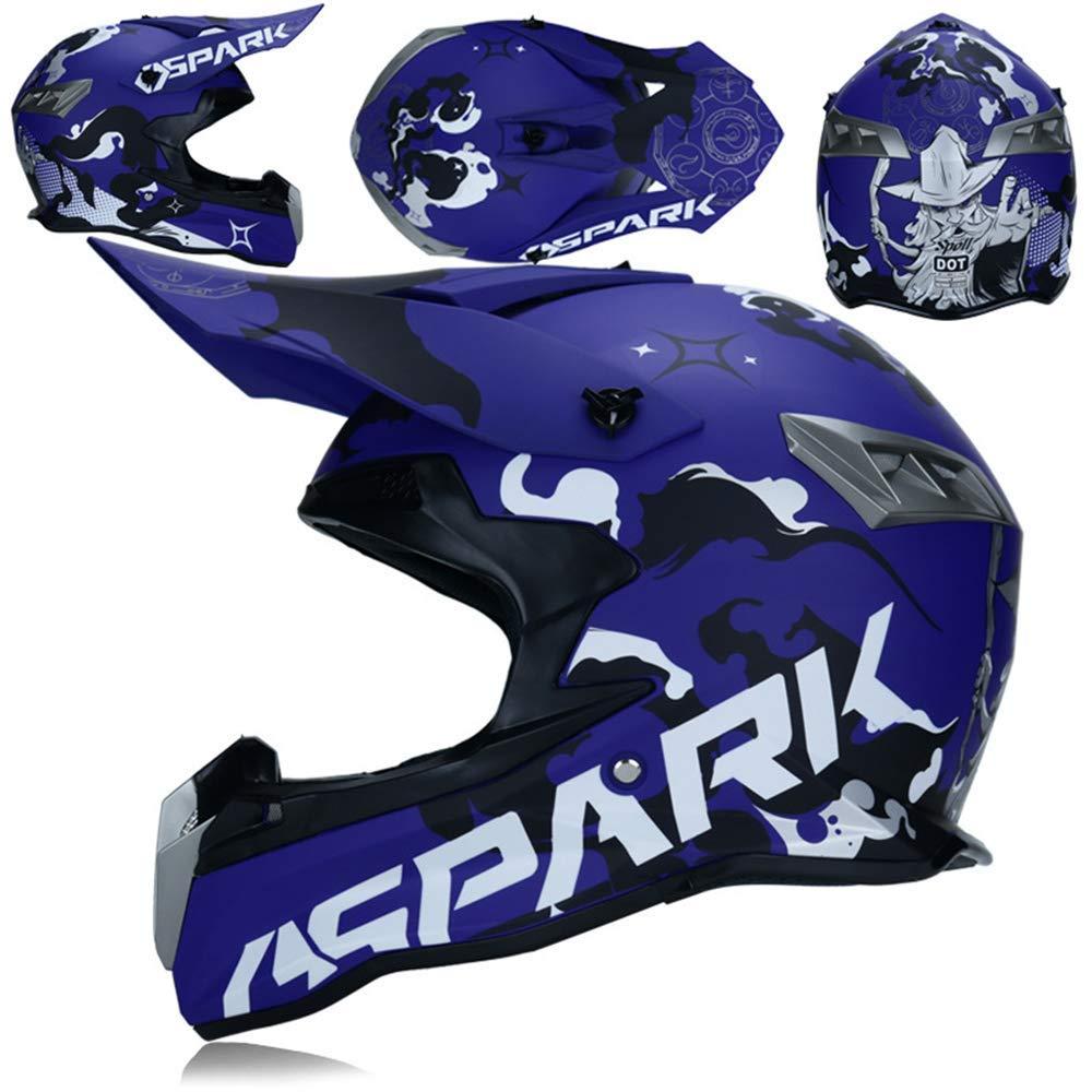 M-TK Motocross Adulto Casco de Carretera Dot Dirt Bike Moto ...
