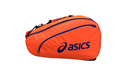 ASICS 114574-0521 Bolsa de pádel, Unisex Adulto, Naranja (Shocking Orange)