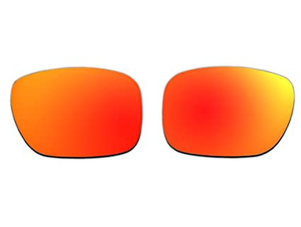 34eaecd531 Image Unavailable. Image not available for. Color  Polarized Replacement Sunglasses  Lenses for Oakley Holbrook with UV Protection(Fire Red Mirror)