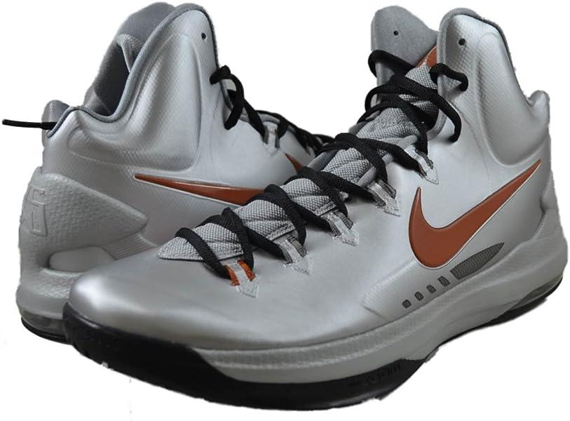 best sneakers 3906d c3bd3 Amazon.com   Nike Men s KD V, -Texas-MTLLC SILVER DSRT ORANGE-SPRT GREY, 13  M US   Fashion Sneakers