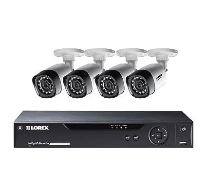 amazon com lorex 8 channel 4 bullet cameras w 1tb 1080p hd hdd rh amazon com lorex hd wire free security system manual lorex eco2 16-channel security system manual