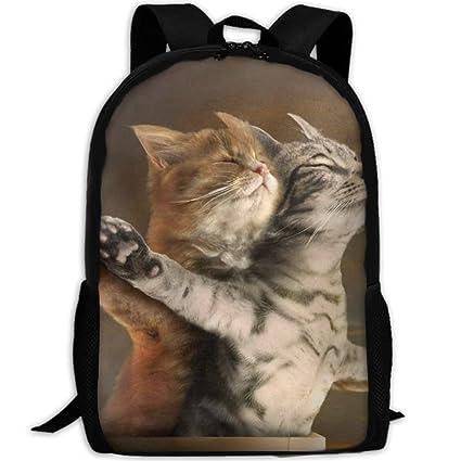 e080e2ddcca9 Amazon.com: Wialis8-id Funny Cats Titanic School Bookbags for Teens ...