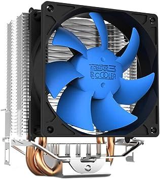 Jinnuotong Enfriador de CPU (Ventilador multiplataforma / AM4 ...
