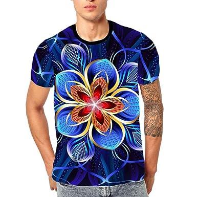 Cocoty-Store 2019 Camiseta de Calavera en 3D para Hombres Casual ...
