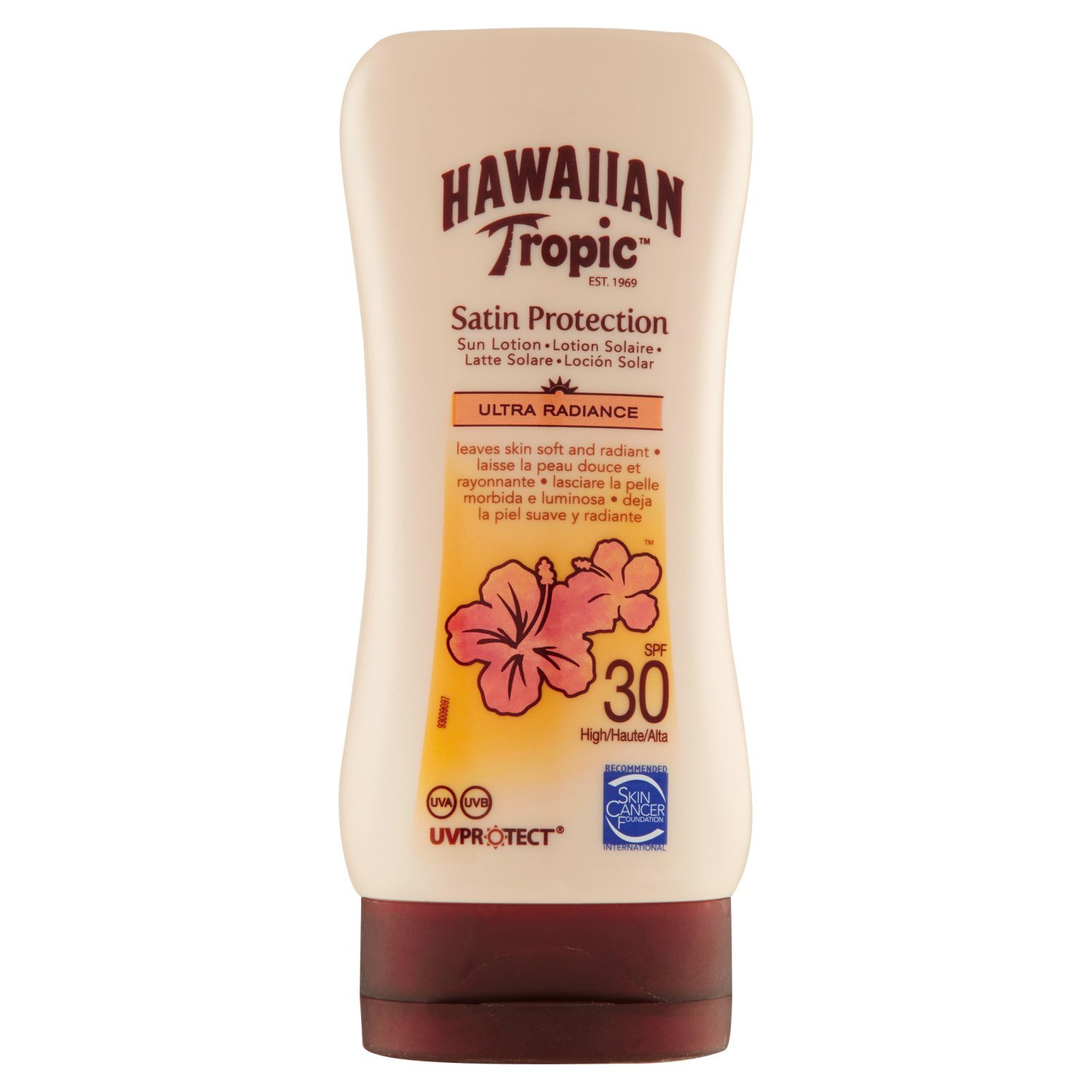 Hawaiian Tropic Satin Protection Sun Lotion LSF 30, 180 ml Y300457200