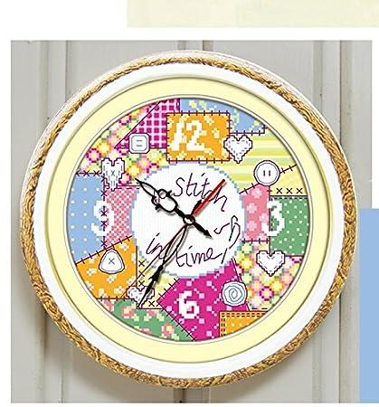 Varios colores reloj de punto de cruz, diseño de botellín de cerveza Suzuki, de