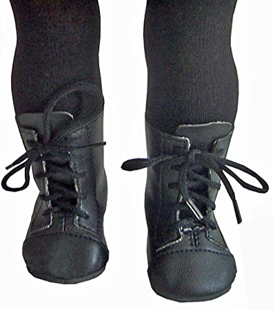 "For 18/"" American Girl Black 1800 Boots /& Tights Samantha Doll Clothes Accessory"