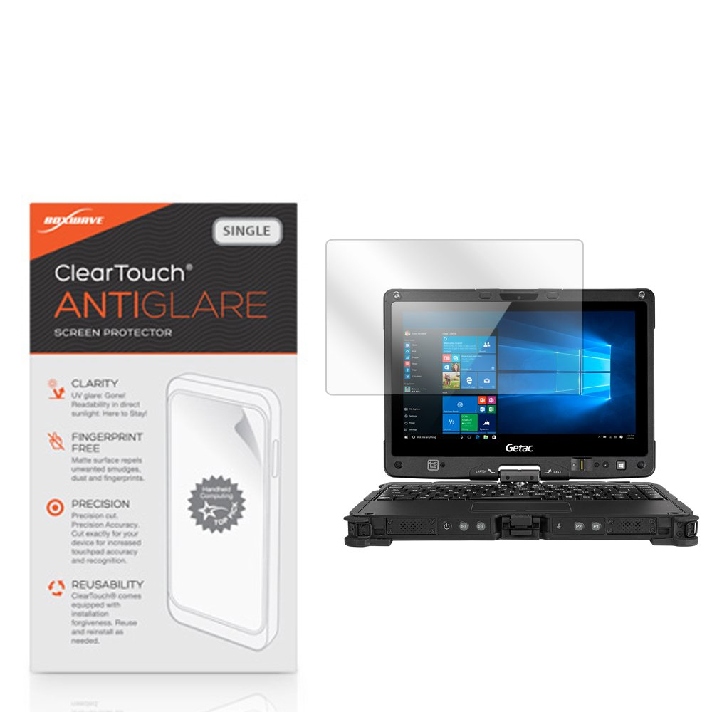 Getac V110 Screen Protector, BoxWave [ClearTouch Anti-Glare] Anti-Fingerprint, Scratch Proof Matte Film Shield for Getac V110