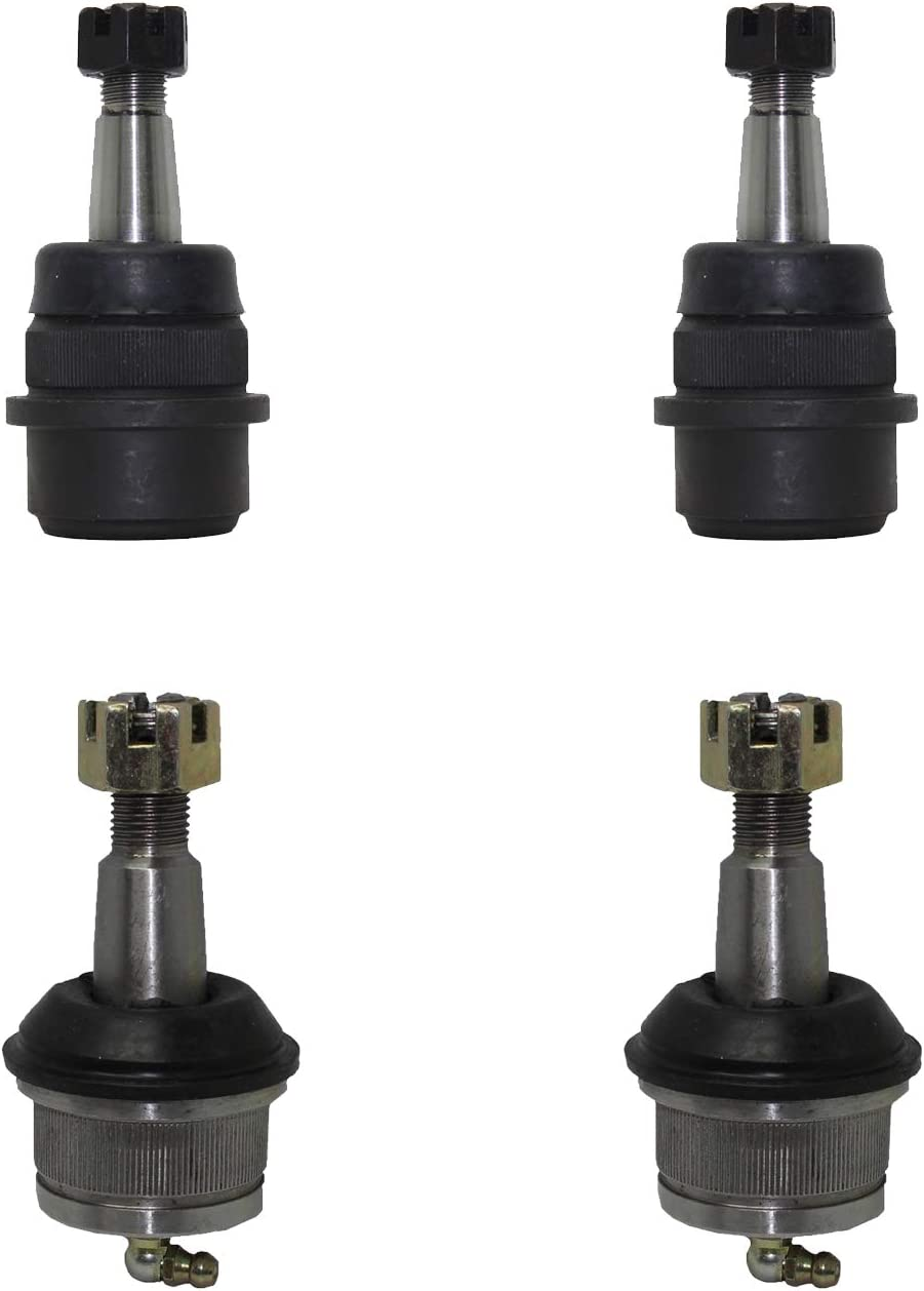 - 1990-2001 Cherokee - 1990-1992 Comanche Detroit Axle 4pc Front Upper Lower Ball Joints for 1993-1998 Jeep Grand Cherokee - 1990-2006 Wrangler