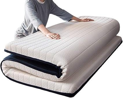 HiiGlife Colchón de látex 6cm espesantes colchonetas de Esponja Estera del  Piso del colchón Alfombra Almohada Plegable futón colchón de Estudiantes  compartida de la Almohadilla del colchón: Amazon.es: Hogar