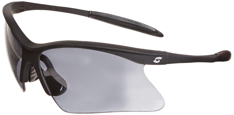 Clear Lens Gray Frame Inc Gateway Safety 15GY80 Cobra Wraparound Safety Glasses