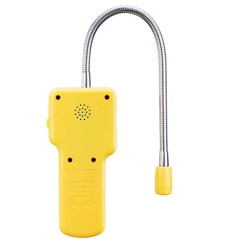 GLP GNL; Sensor de Cuello Flexible Detector de Gas Butano Detector de Gas Natural Detector de Fugas de Gas Propano Sensor Port/átil de Gas Explosivo Probador de Gas Metano
