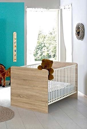 Kinderbett Babybett komplett Set ELISA inkl. Lattenrost 70 x 140 cm ...