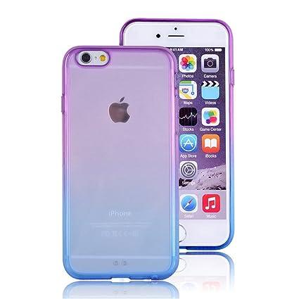 Amazon.com: iPhone 6 Funda Transparente, 3 C Mall degradado ...