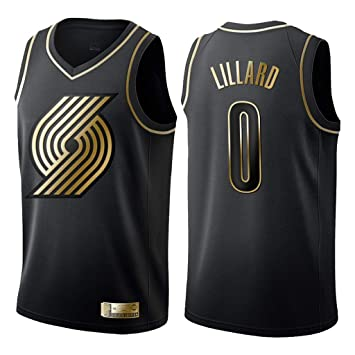 Hombre Mujer Ropa de Baloncesto Portland Trail Blazers 0# Lillard ...