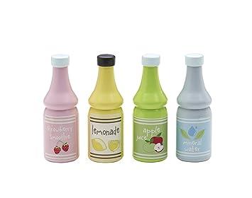 Woodega Kids Concept – Juego de Botellas de Bebidas Juego de 4 ...