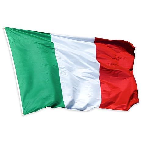 Bandera de Italia 150×90cm para La Decoración del Lugar Parezca Más Juvenil de Bandera
