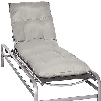 beautissu matelas coussin pour bain de soleil chaise longue de jardin transat flair rl 190x60x8cm - Jardin Transat