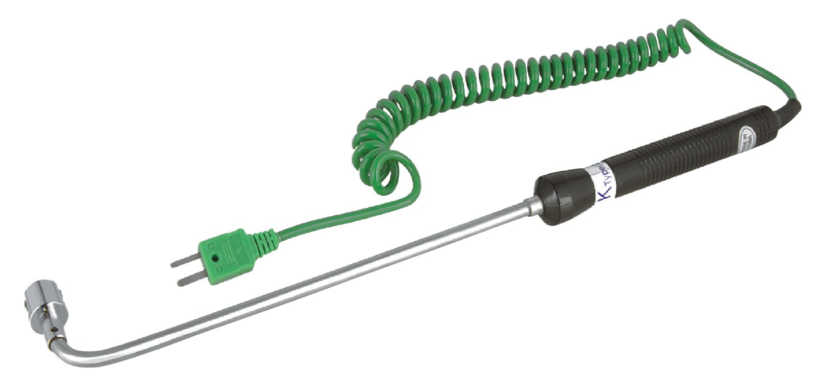 REED Instruments R2502 Right Angle Thermocouple Surface Probe, Type K, -58 to 932°F (-50 to 500°C)