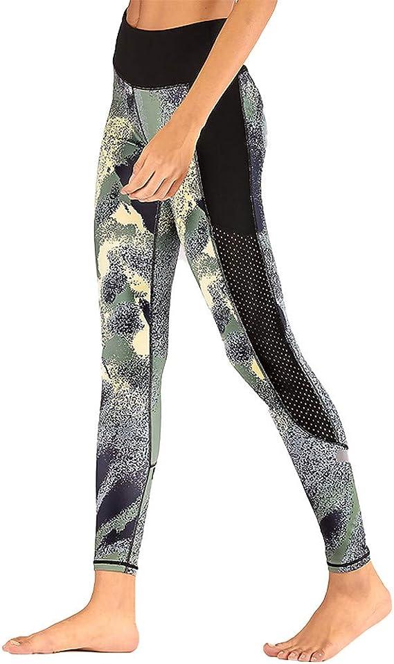 Pantalones Mujer Verano Azul Marino Pantalon Yoga Pie Leggings ...