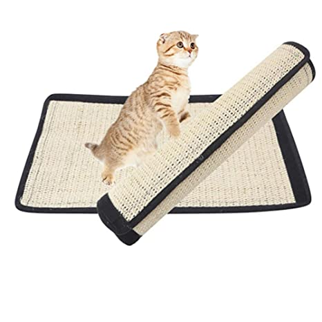 The Fellie Alfombrilla de rascador para Gatos de sisal, Tabla de rasguños para Gatos,