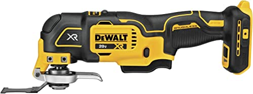 DEWALT 20V MAX XR Oscillating Multi-Tool, Variable Speed, Tool Only DCS356B