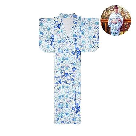 LiXiZhong Kimono para Mujer Traje De Albornoz Japonés Tradicional ...