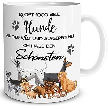 Triosk Tasse Mit Hund Geschenk Für Hundebesitzer Und Lustiger Spruch