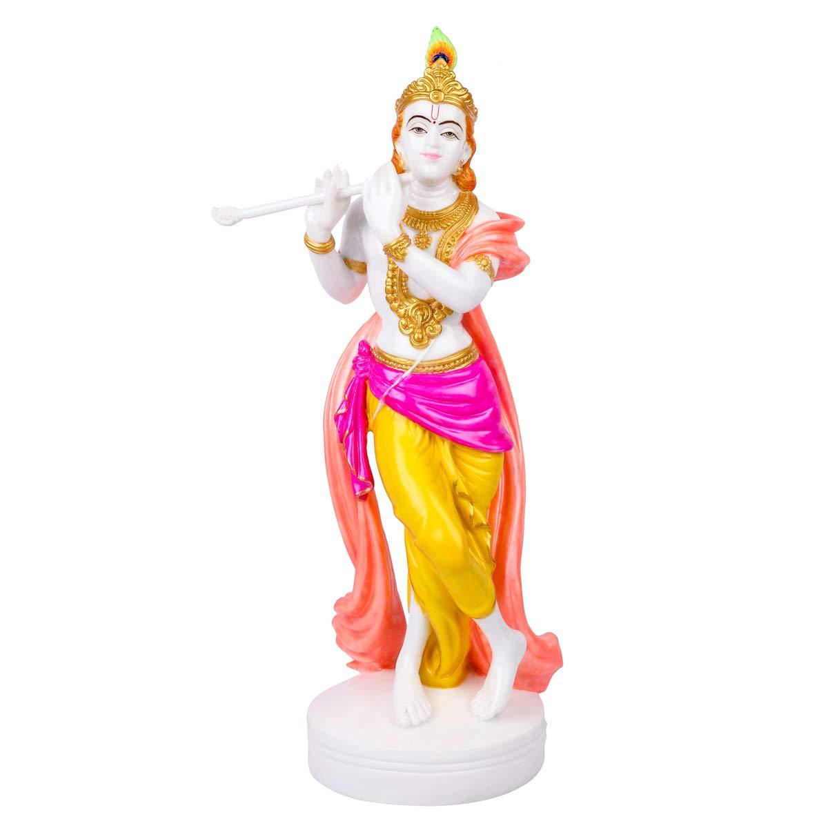 Buy Divine Gifts Krishna Marble Statue Krishna Murti For Pooja